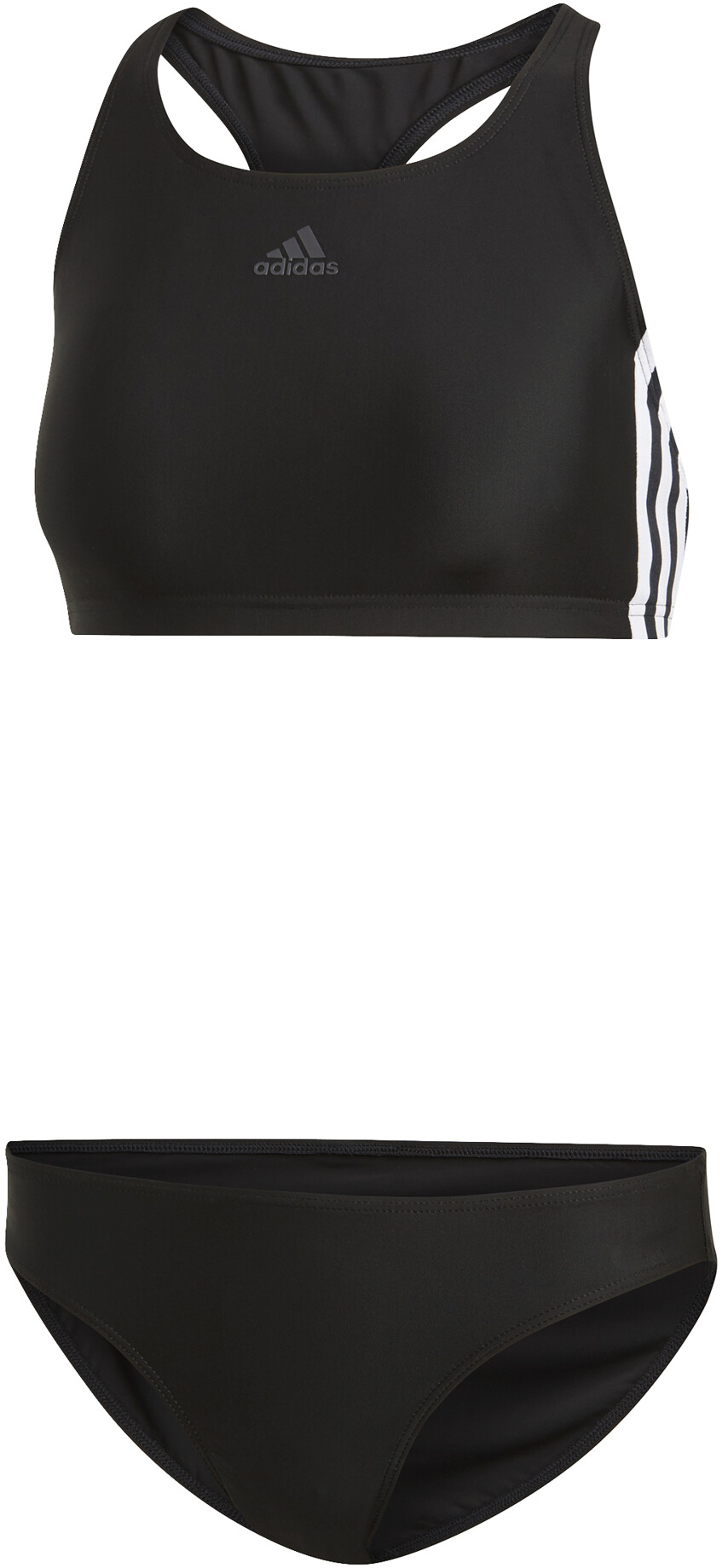 adidas Fit 3-Stripes Bikini Dam svart - till fenomenalt pris på Bikester 5adeef4ba1e68